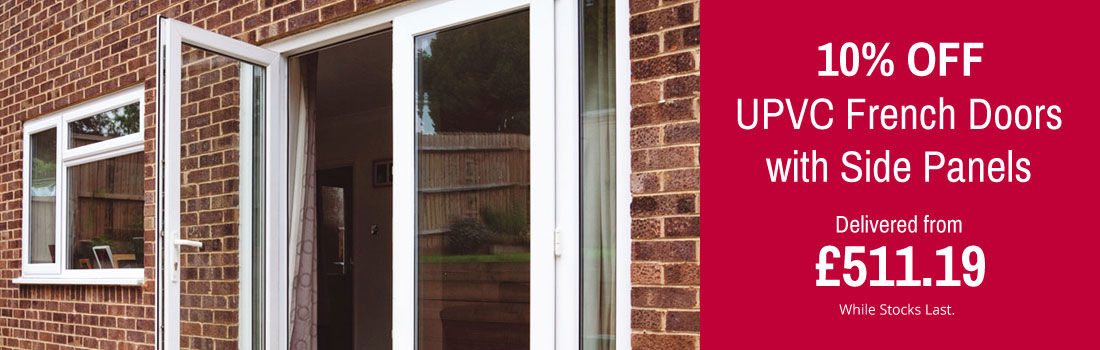 Specialists in upvc french doors upvc bifold doors for Upvc french doors with side panels