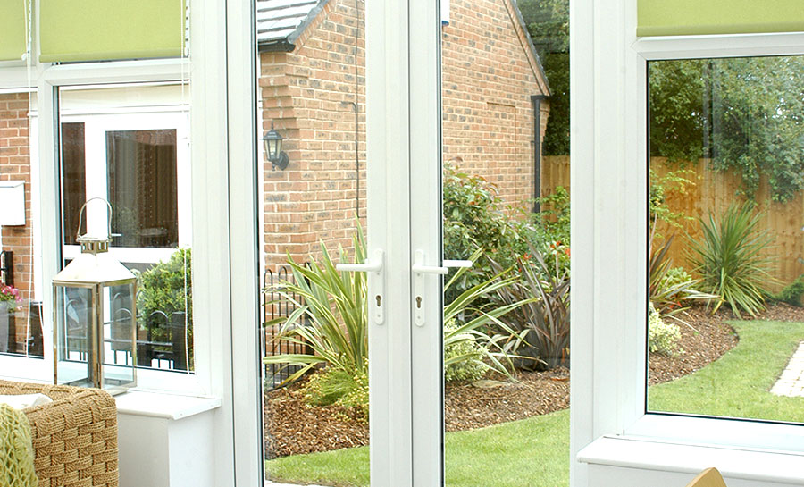 Rh offset upvc french doors flying doors for Upvc french doors 1790 x 2090mm