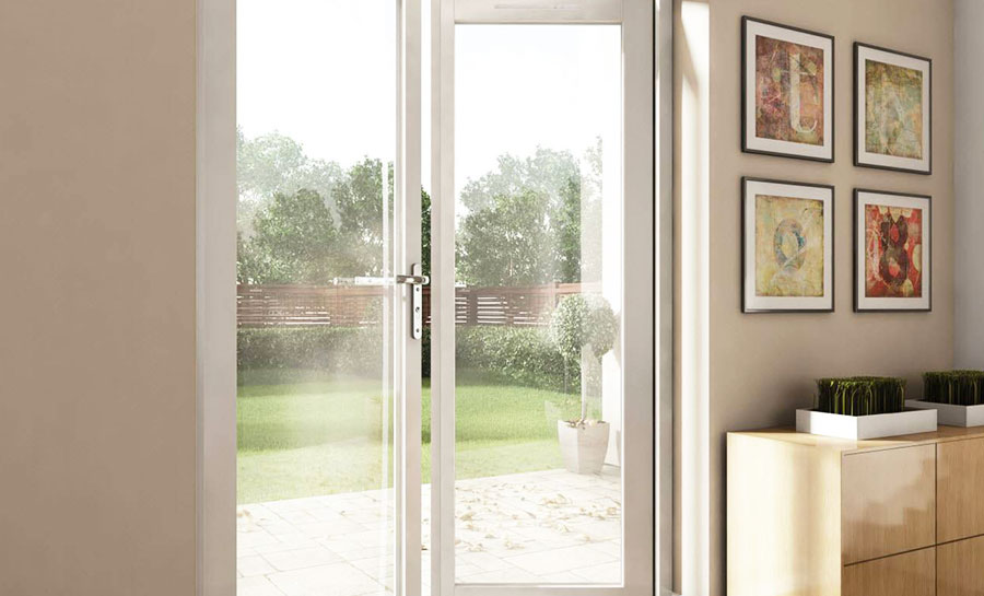 6ft upvc georgian french doors with 2 wide upvc side for 6 ft wide french doors