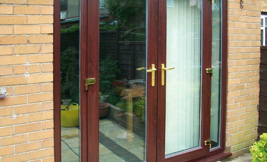 4ft anthracite grey upvc french doors flying doors for Upvc french doors 1790 x 2090mm