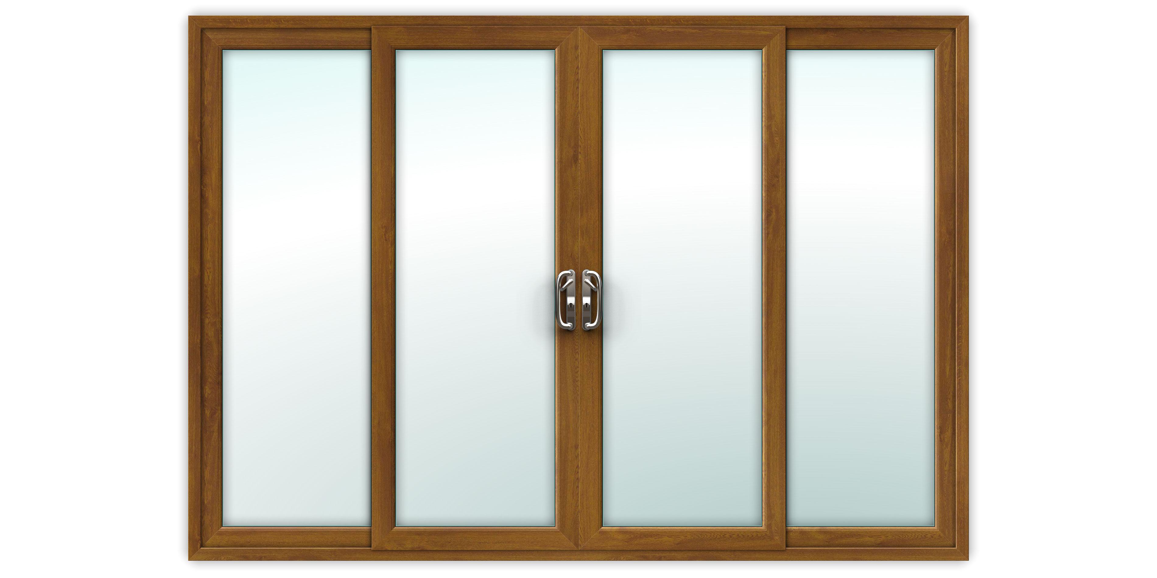 Upvc Sliding Patio Doors >> 10ft Golden Oak Upvc Sliding Patio Doors
