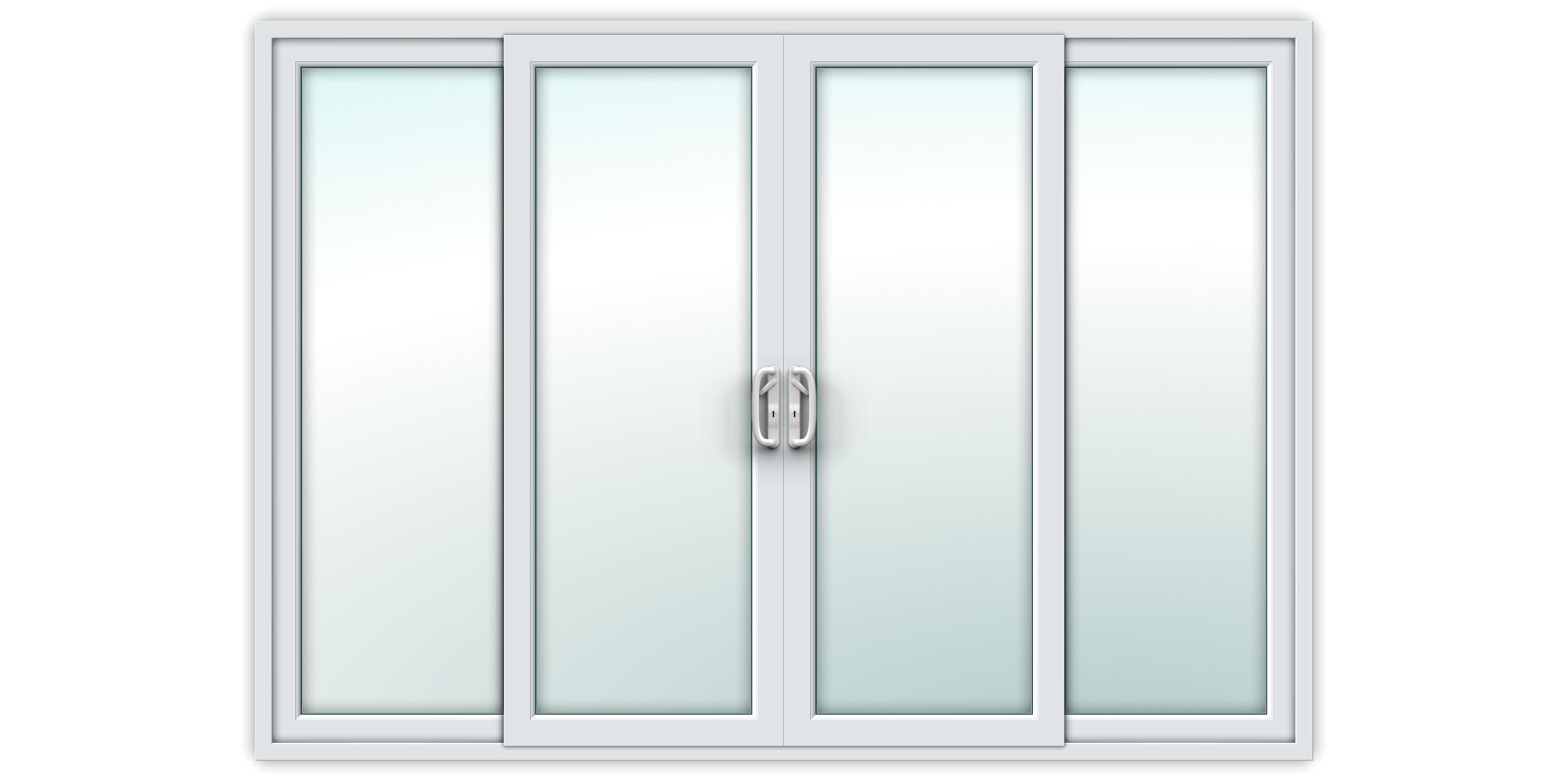 10ft uPVC Sliding Patio Doors