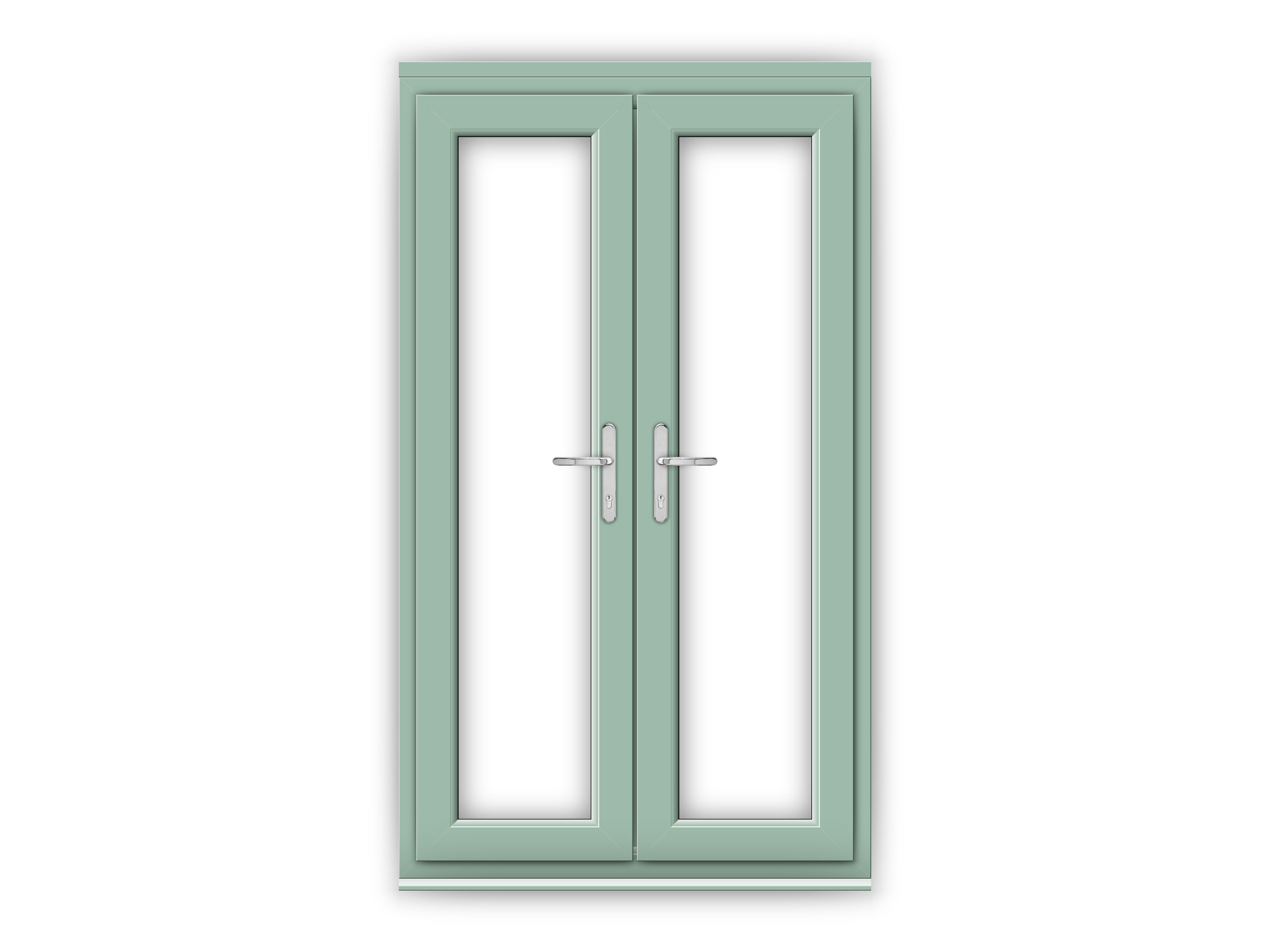 4ft Chartwell Green uPVC French Doors
