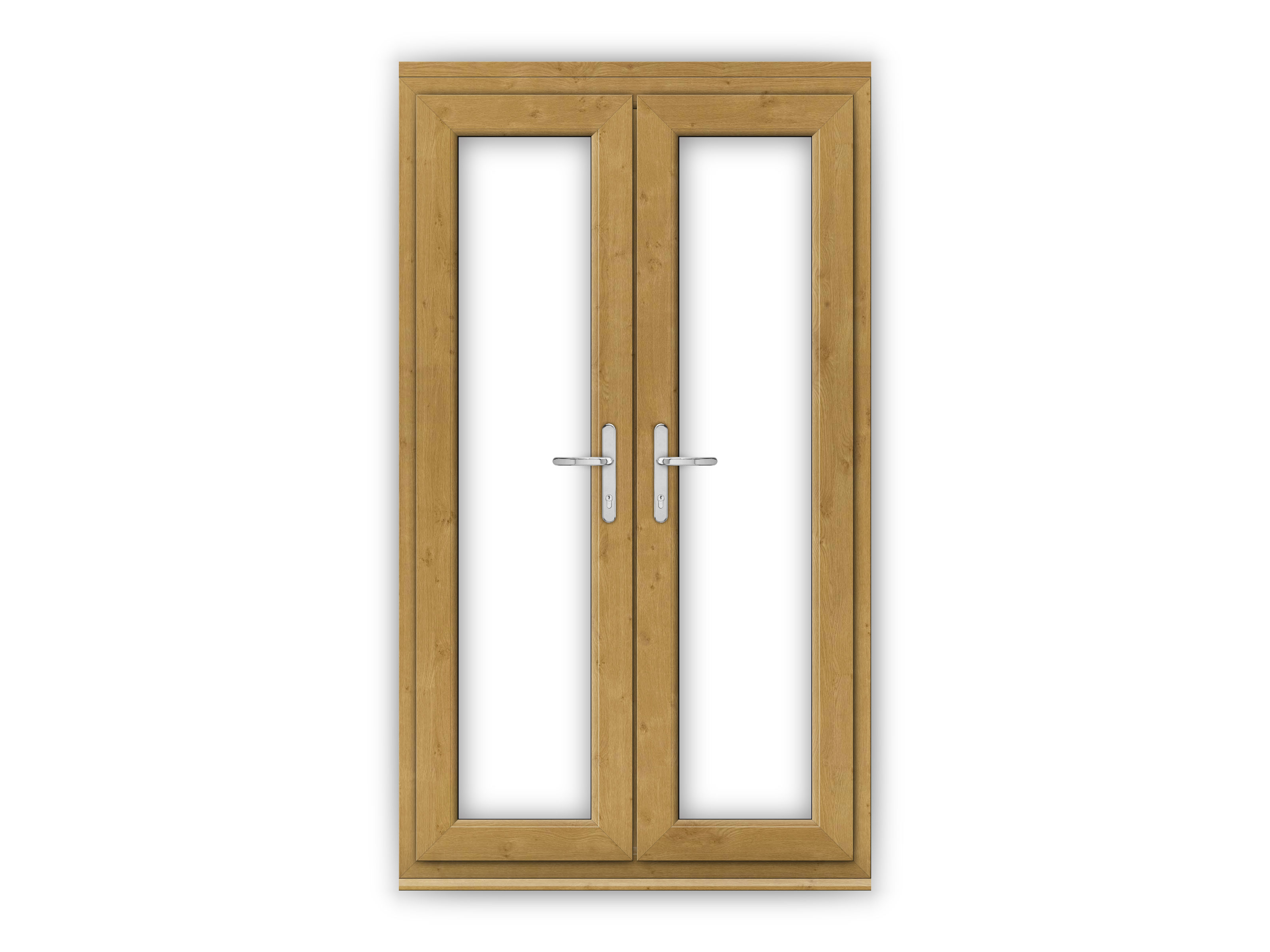 4ft irish oak upvc french doors flying doors for Upvc french doors 1790 x 2090mm