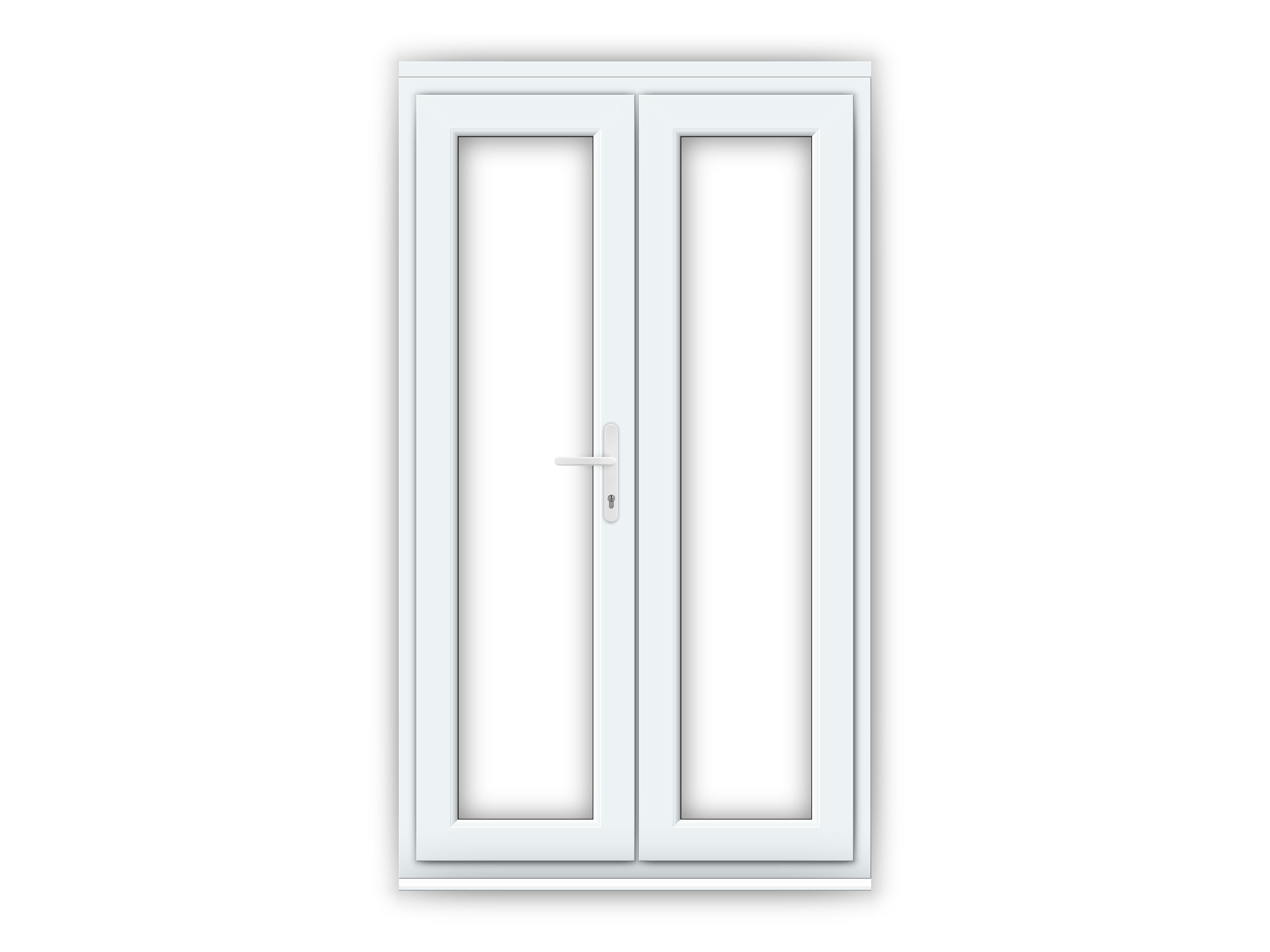 4ft uPVC French Doors