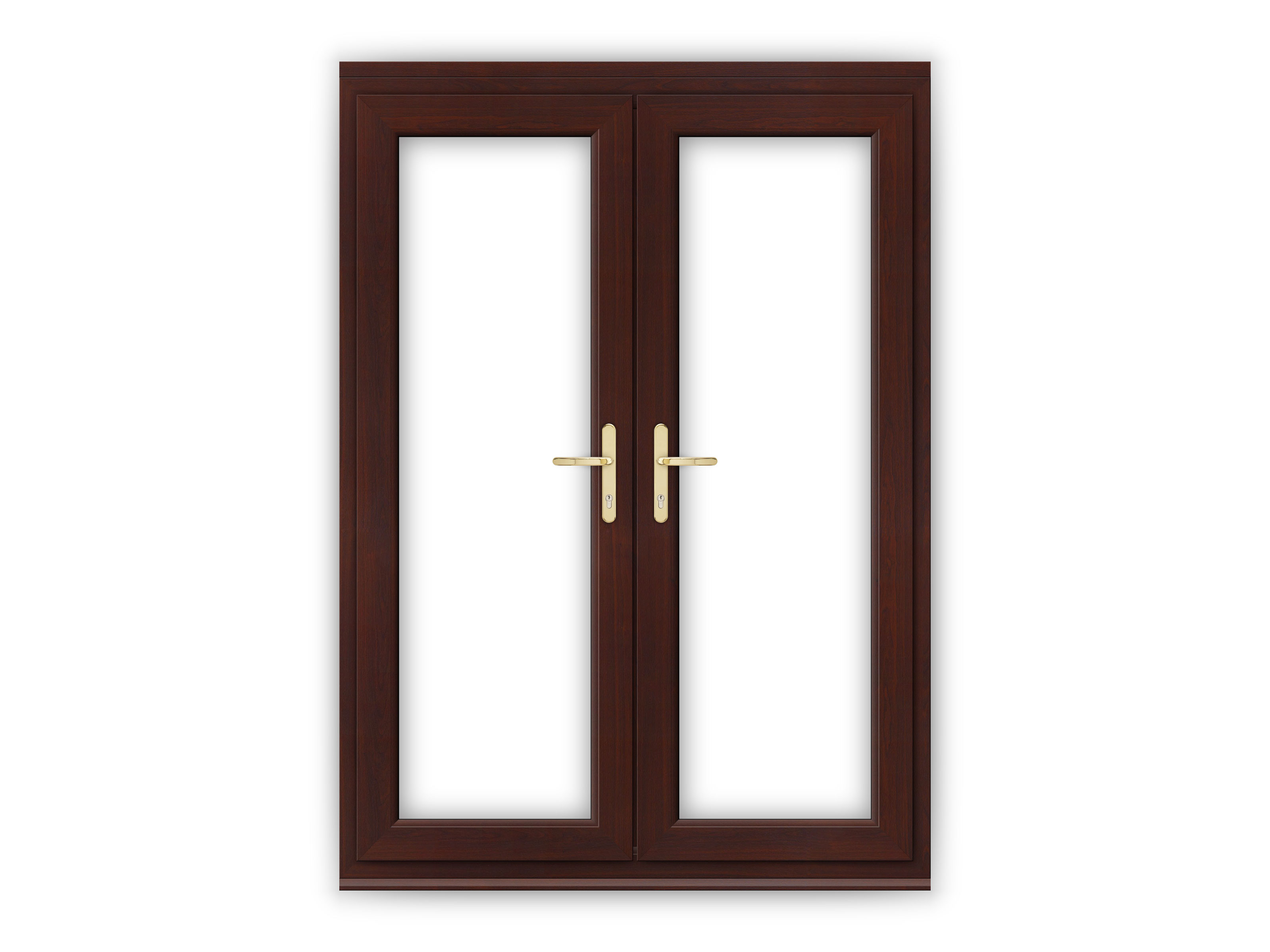 5ft rosewood upvc french doors flying doors for Upvc french doors 1790 x 2090mm