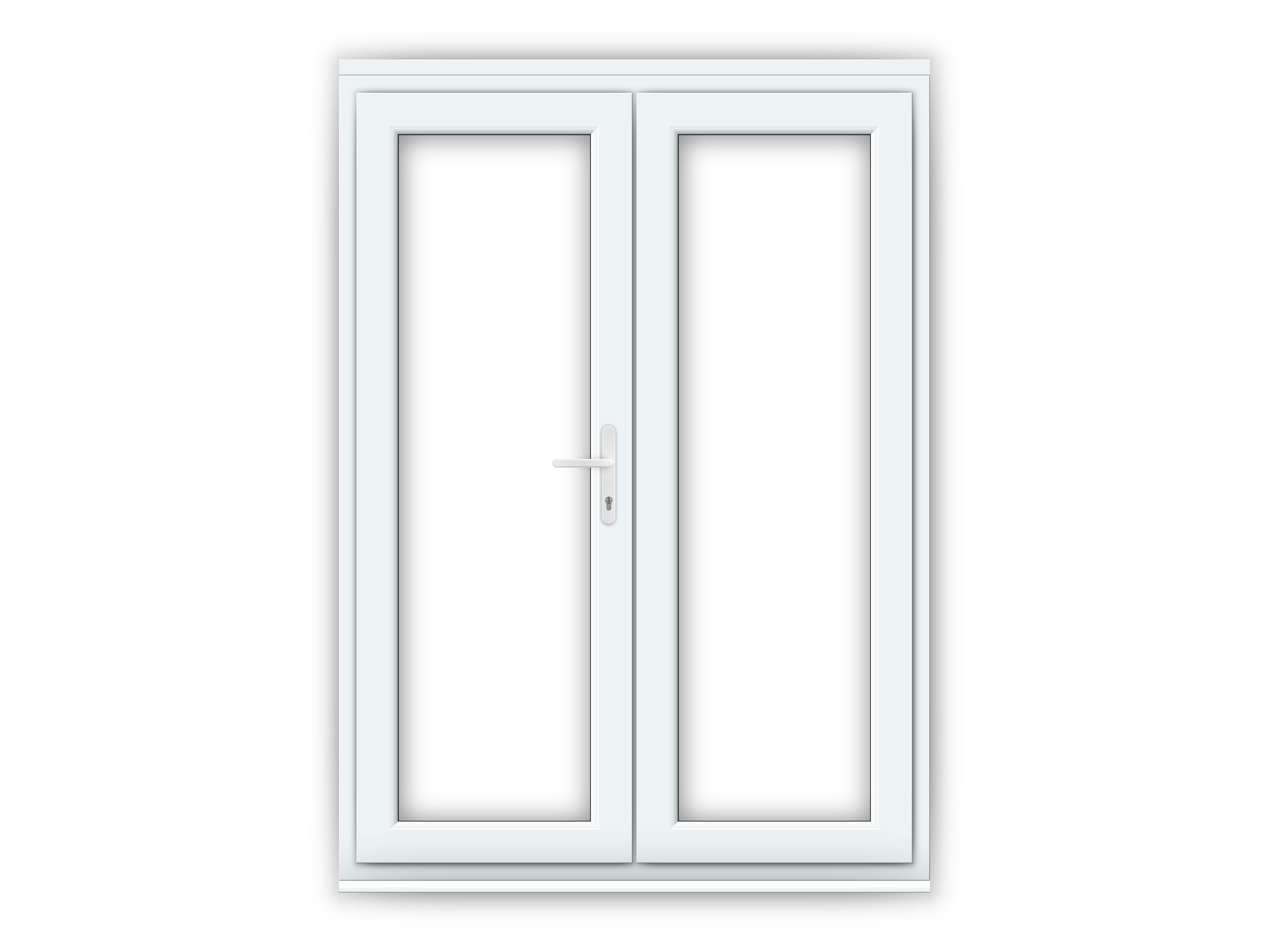 5ft upvc french doors flying doors