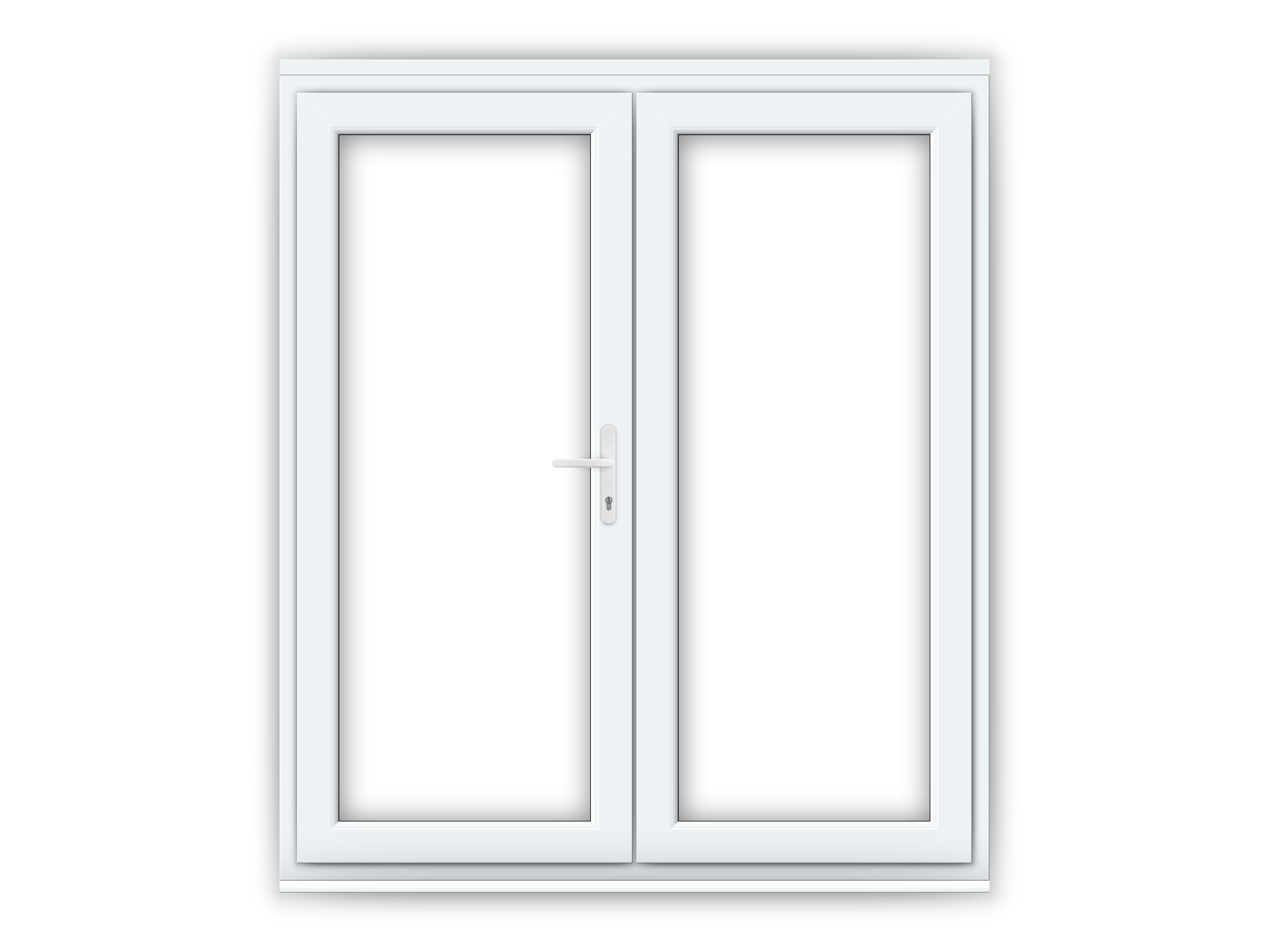 6ft upvc french doors flying doors
