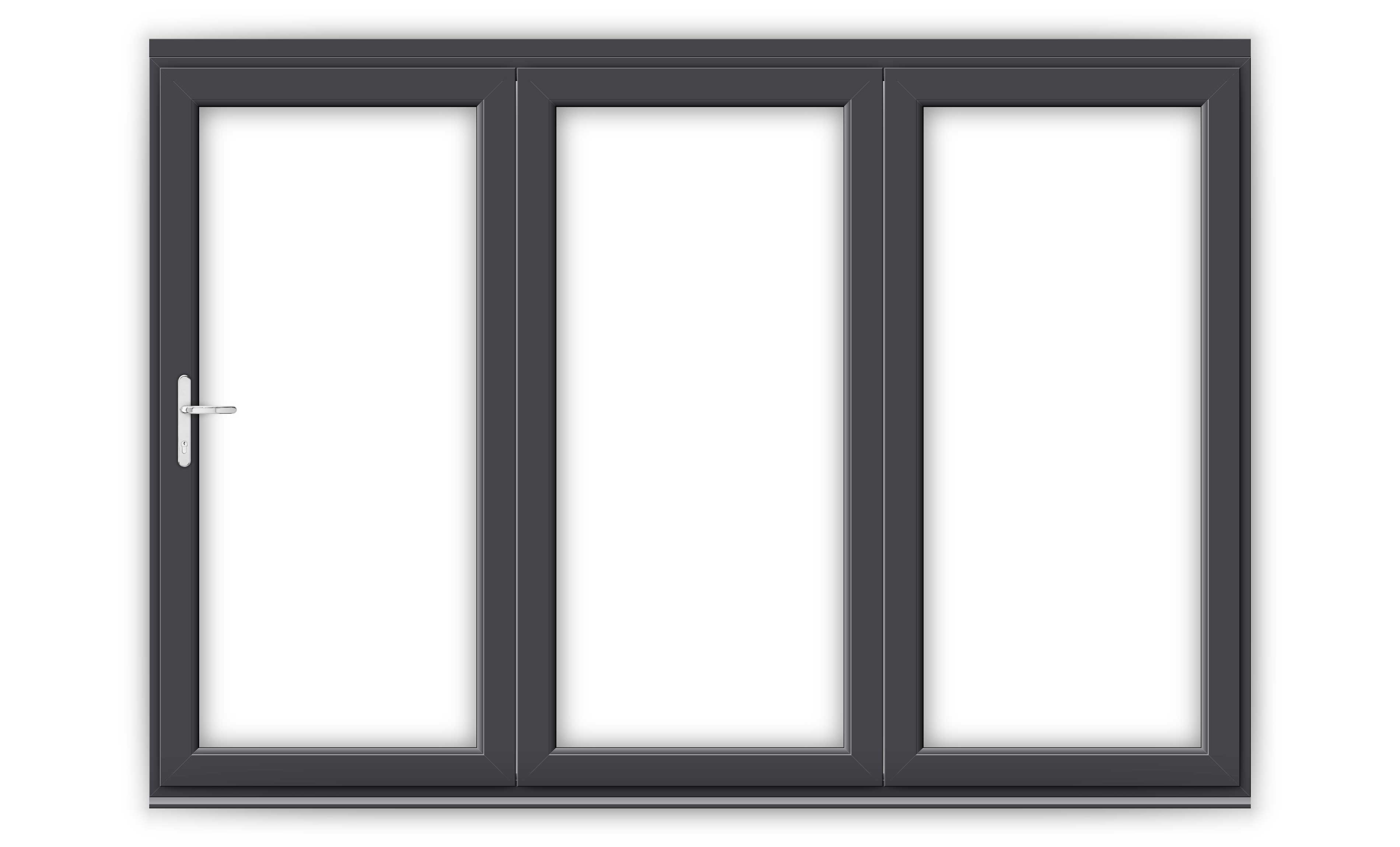 10ft Anthracite Grey uPVC Bifold Door Set