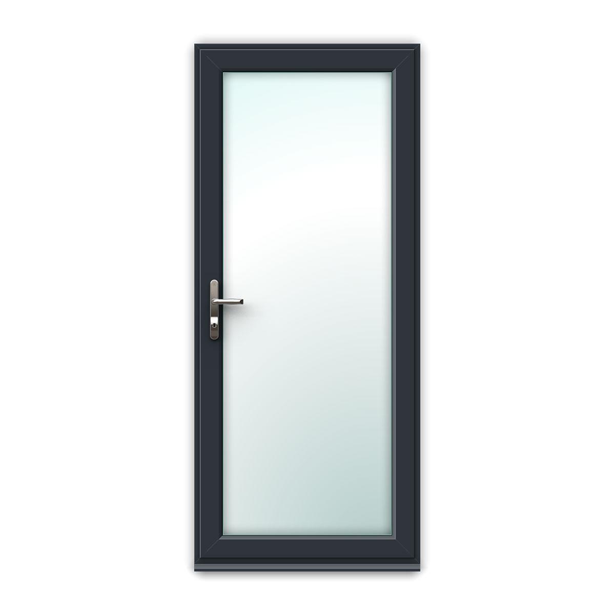 Full Glass uPVC Back Door