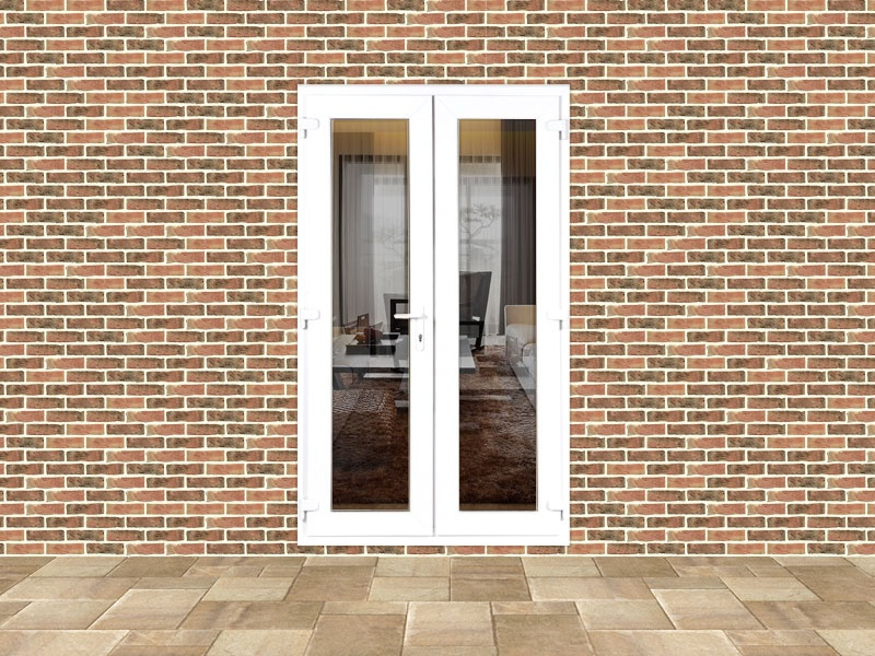 Upvc custom french door set 1136 flying doors for Upvc french doors made to measure