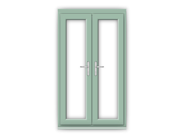 Chartwell green upvc french doors flying doors for Upvc french doors 4ft