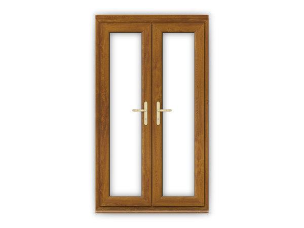 4ft Golden Oak uPVC French Doors