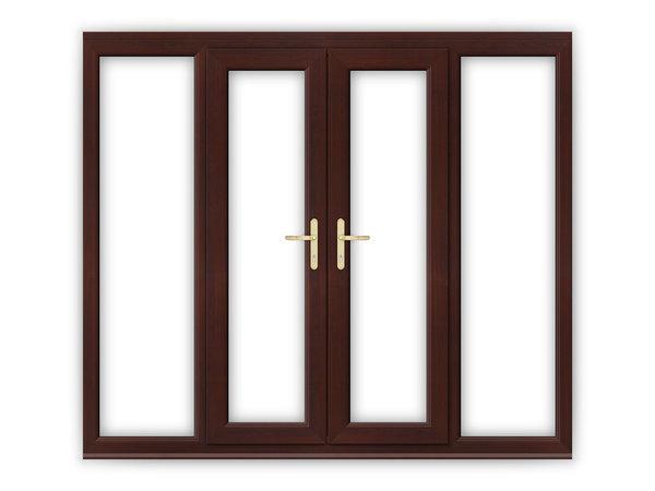 Rosewood upvc french doors flying doors for 4 ft wide french doors