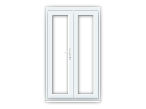 4ft uPVC French Doors