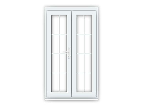 4ft uPVC Georgian French Doors