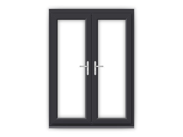 5ft Anthracite Grey uPVC French Doors
