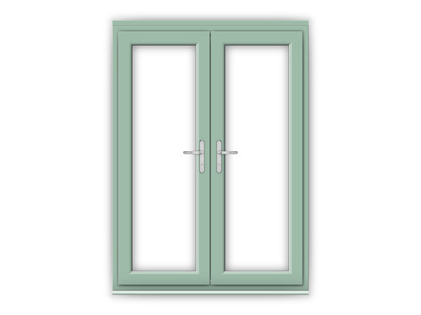 5ft Chartwell Green uPVC French Doors