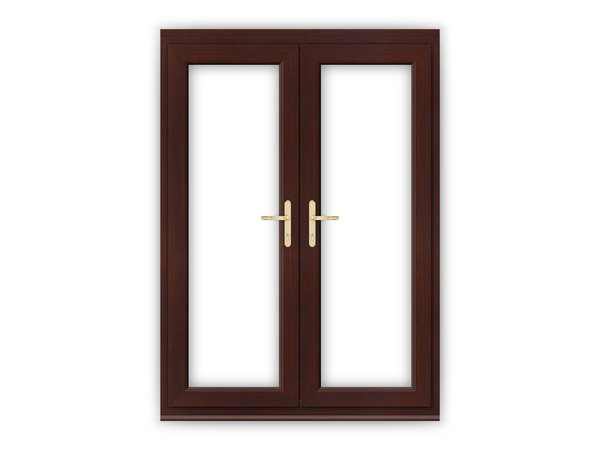 Rosewood upvc french doors flying doors for 4ft french doors exterior