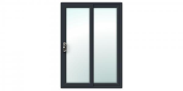 5ft Anthracite Grey uPVC Sliding Patio Doors