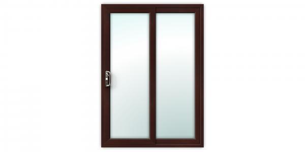 5ft Rosewood uPVC Sliding Patio Doors