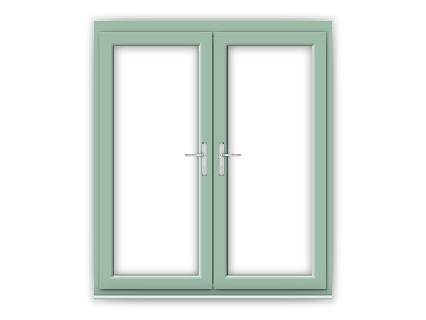 6ft Chartwell Green uPVC French Doors