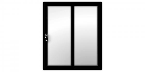Black uPVC Sliding Patio Doors