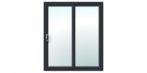 Anthracite Grey uPVC Sliding Patio Doors