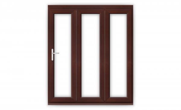 6ft Rosewood uPVC Bifold Doors