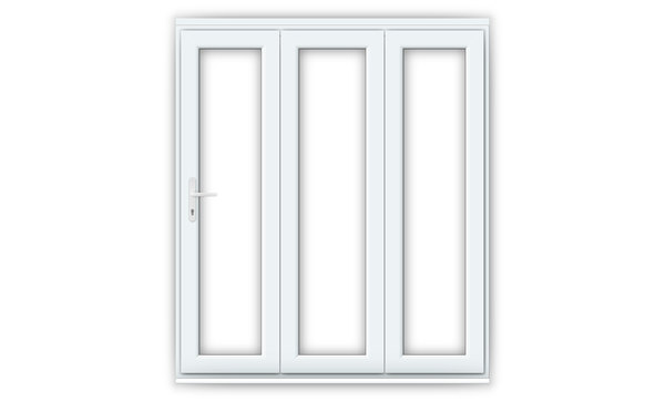 6ft White uPVC Bifold Doors