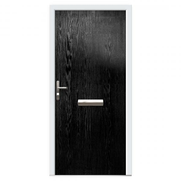 Black Composite Front Doors