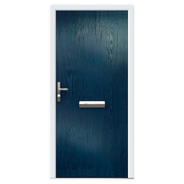 Blue Composite Front Doors