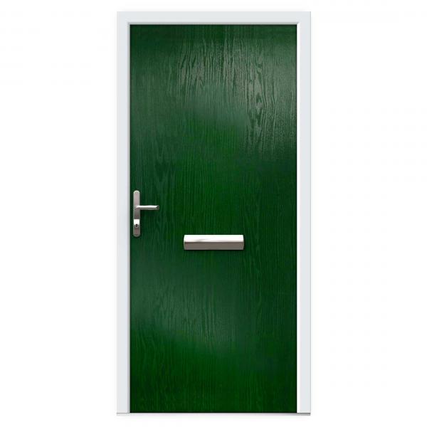 Green Composite Front Doors