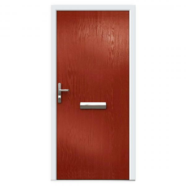 Red Composite Front Doors