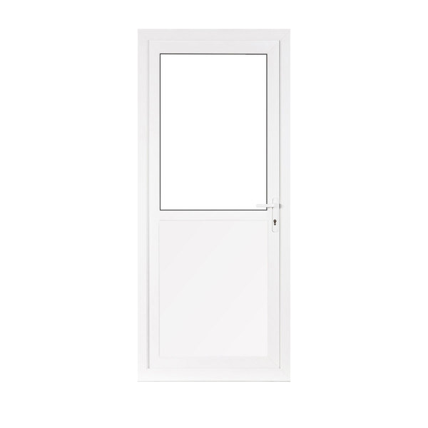 Upvc front and back doors flying doors for Back door styles