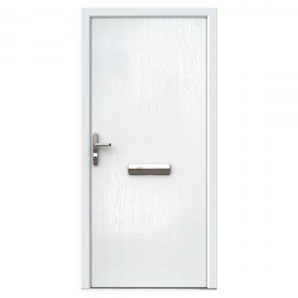 White Composite Front Doors