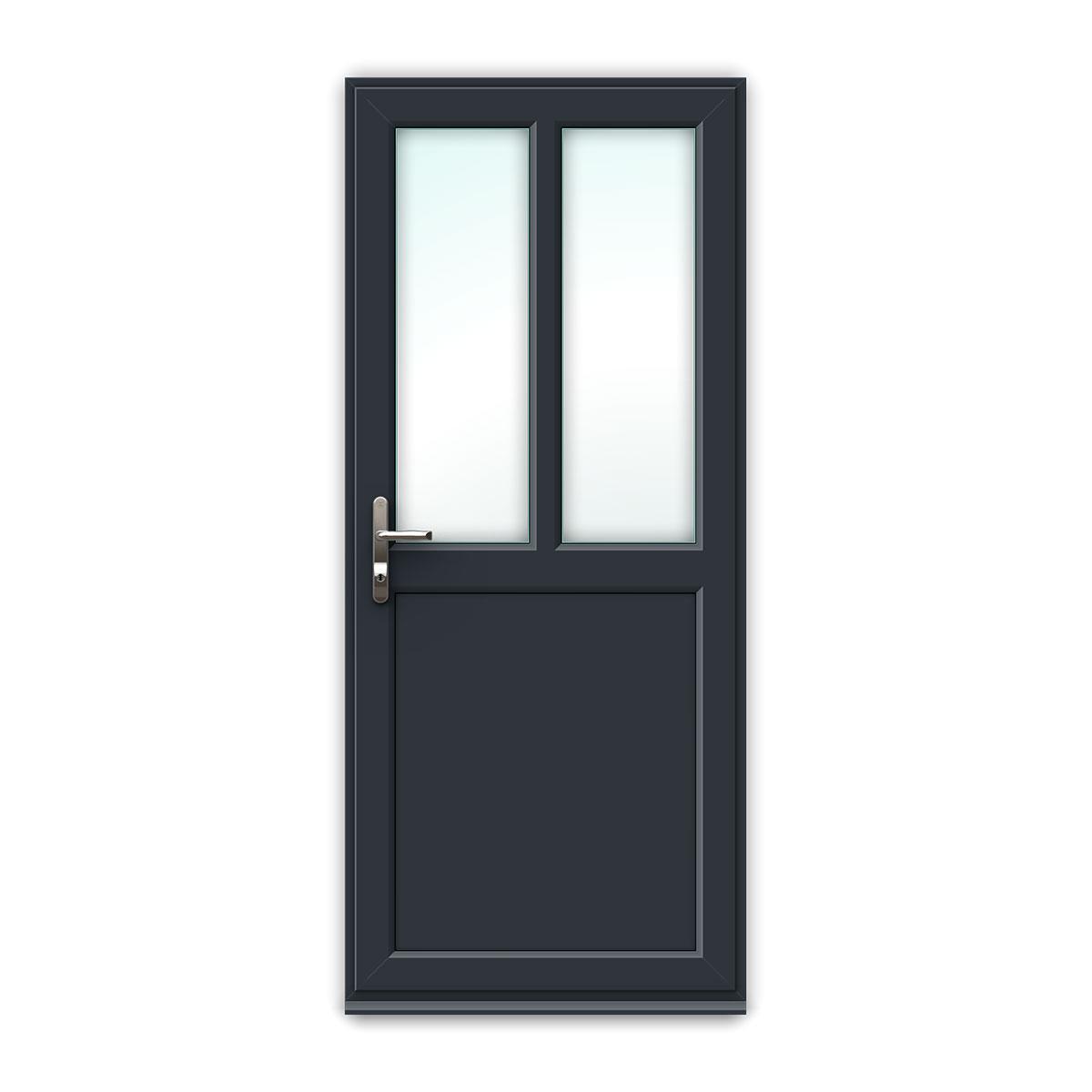 Narrow Lite uPVC Back Door