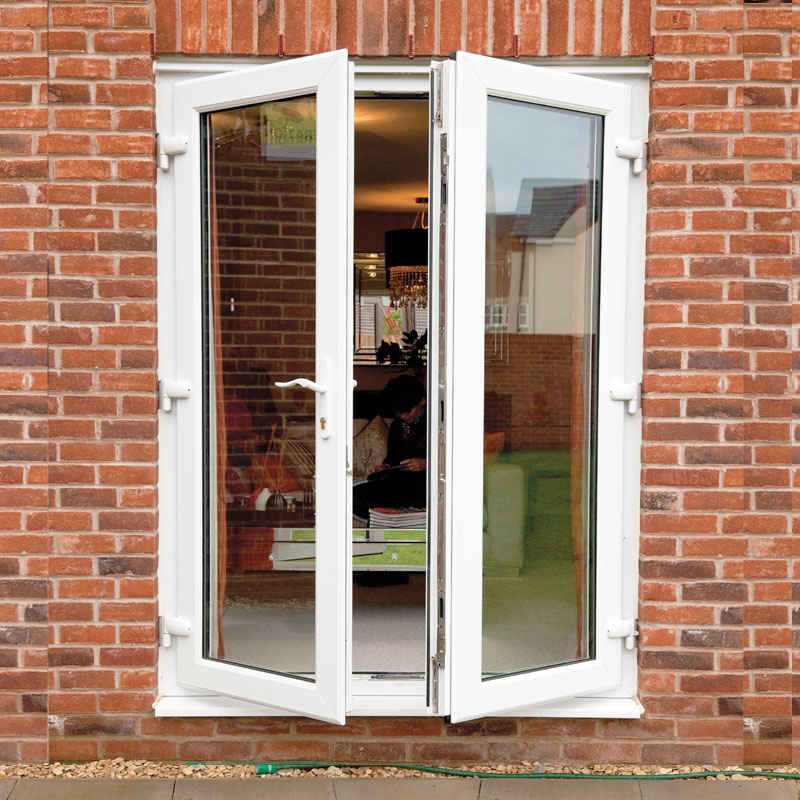 M2m upvc french door set flying doors for French doors exterior upvc made to measure